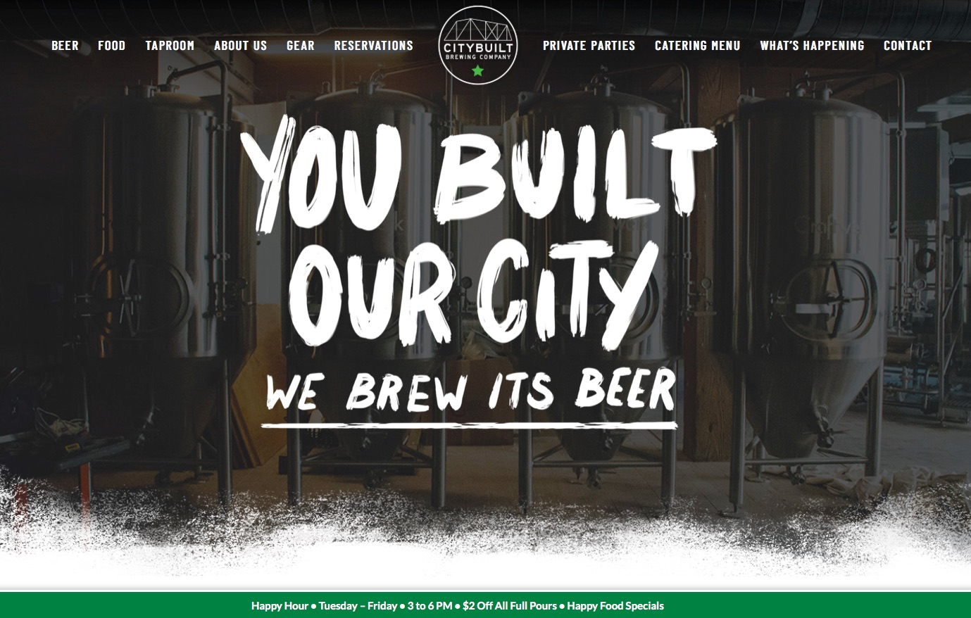 City Built Brewing