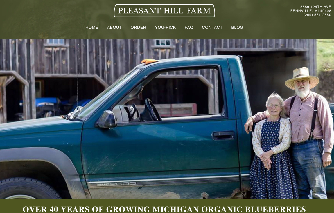 Pleasant Hill Blueberry Farm