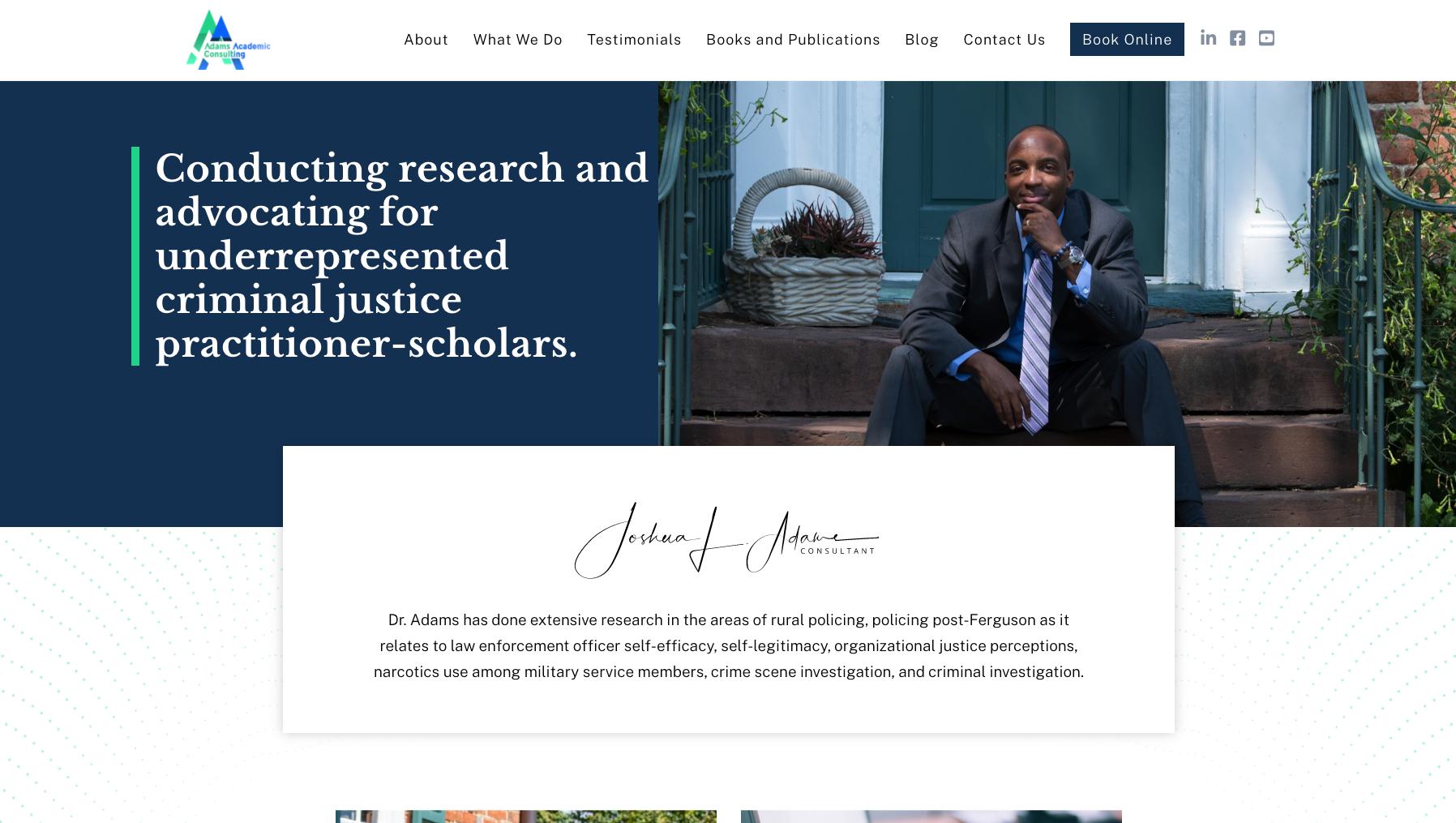 Dr. Joshua Adams